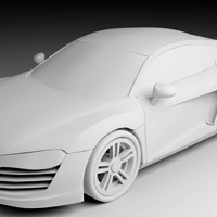 Modeling the 'Audi R8′ – Day 3 – Premium Content