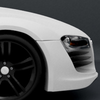 Modeling the 'Audi R8′ – Day 4 – Premium Tutorial