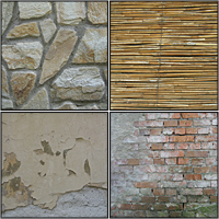 37 Wood, Brick and Concrete Textures – CG Premium Content Pack