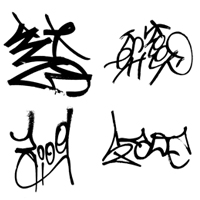 25 Graffiti Tags – Premium Texture Pack