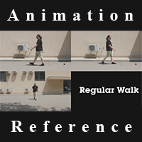 Animation Reference Pack: Walk/Run Cycles – CG Premium Content