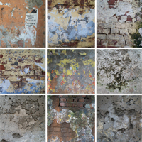 70 High-Res Dirty Wall Textures Part 2 – Cg Premium Content