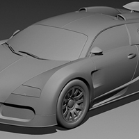 Modeling the Bugatti Veyron in Maya, Day 1 &#8211; Premium Tutorial
