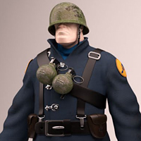 Freebie: Amazing 3D Character Model Of The Soldier From Team Fortress 2!
