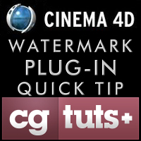 Quick Tip: C4D Watermark Plugin
