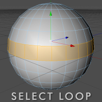Quick Tip: Select Loop Plugin For C4D