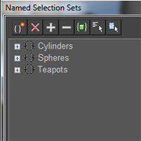 Quick Tip: Object &#038; Sub-Object Selection Sets In 3D Studio Max