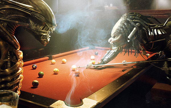 Alien Vs Predator Chess Wallpaper Preda