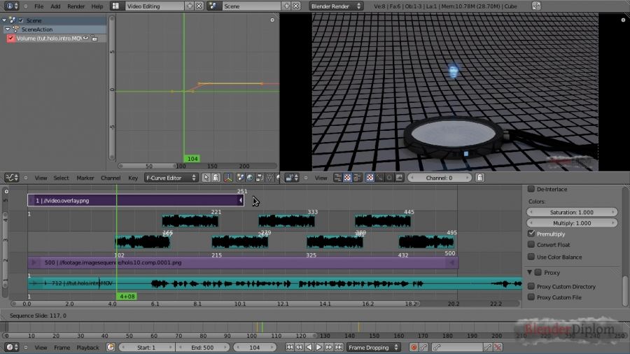 Blender Video Sequence Editor (VSE)