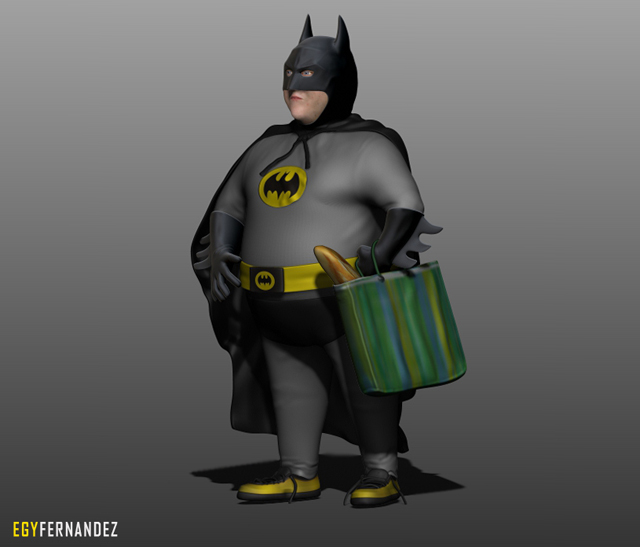 Cgtuts+ 3d cg Juan Carlos Batman critique