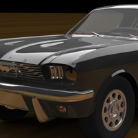 Cgtuts+ Workshop #26 Ford Mustang