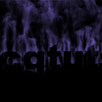 Create a Cool Smoking Text Effect using Fluid Mapping with Particle Flow