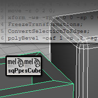 Procedural Modeling with MEL Script in Maya &#8211; Day 1