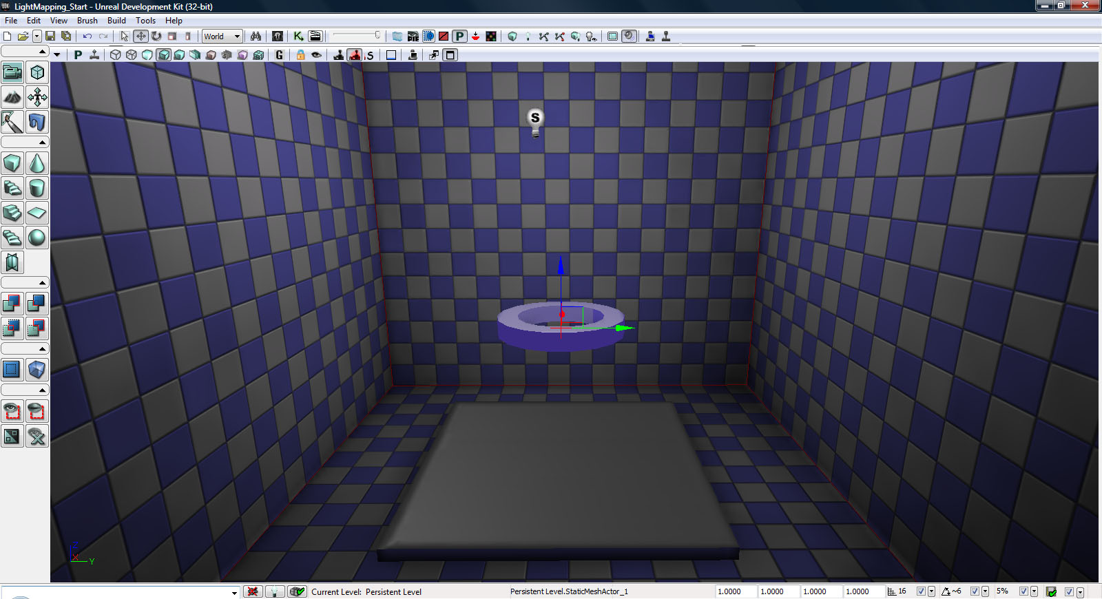UDK Lightmapping 6