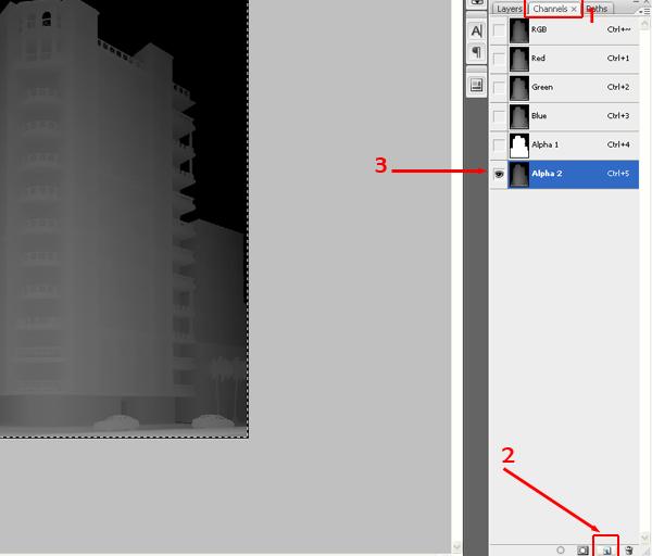 16 آموزش ترکیب لایه های رندر V ray در فتوشاپ