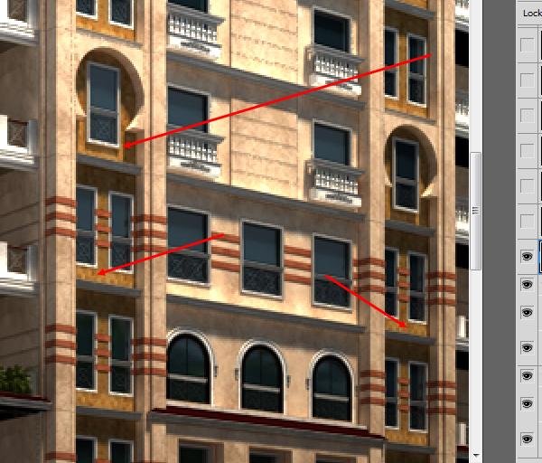 25 آموزش ترکیب لایه های رندر V ray در فتوشاپ