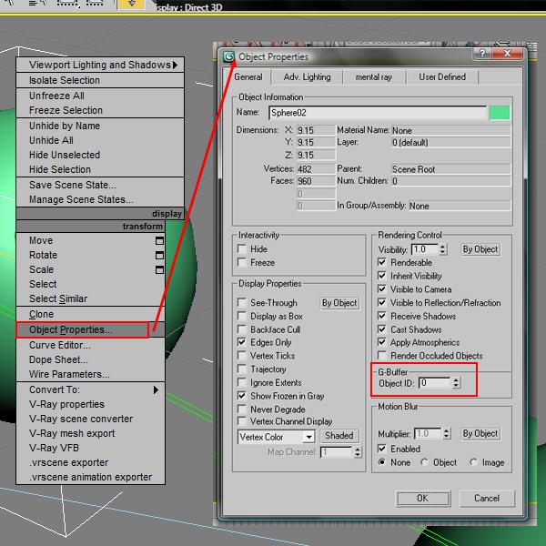 7 آموزش ترکیب لایه های رندر V ray در فتوشاپ
