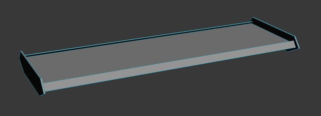 3D модель для создания развёртки