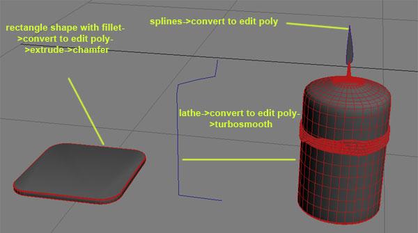 Техника 3D моделирования