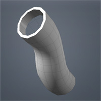 Quick Tip: UVing Deformed Pipes in Modo