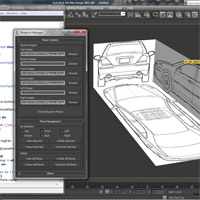 Coding a 'Blueprint Manager' in 3dsMax – Day 1