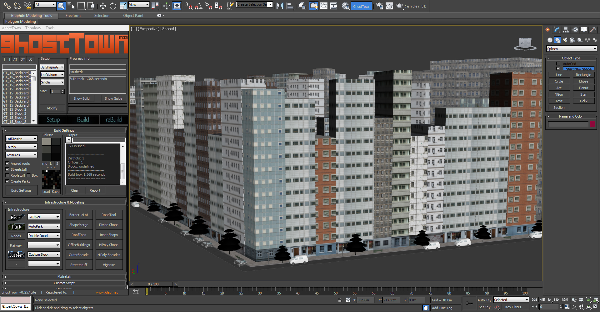 Create a detailed city with 3d studio max ghost town for 3d max tutorial