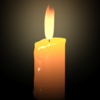 Create A Realistic Candle &#038; Flame In 3D Studio Max