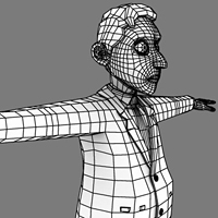 How To Render Wireframes With Ambient Occlusion In Maya, Using Mentalray