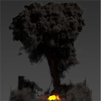 Create A Realistic Explosion In Maya Using Maya Fluids