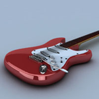Rendering A Realistic Guitar In Maya Using VRay