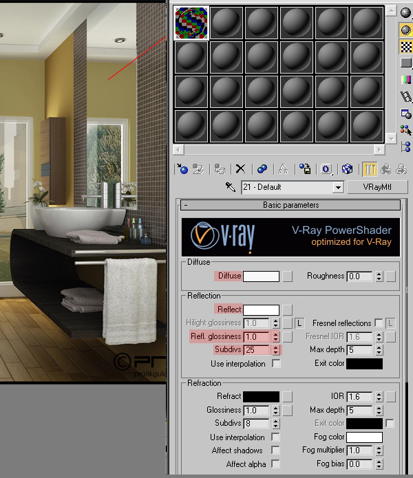 SoftImage & XSI ? ? - RSS - Achieving Realistic Results With 3ds Max & V-Ray, An Interior Lighting And Rendering Overview