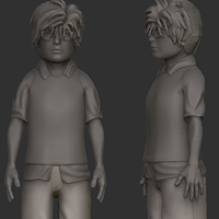 Create A Stylized Character With Maya And ZBrush, Retopo