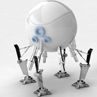 Modeling And Rendering A Simple Robot In Maya Using V-Ray