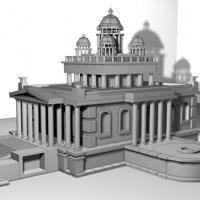 Creating A Temple In Maya, A Basic Modeling Workflow