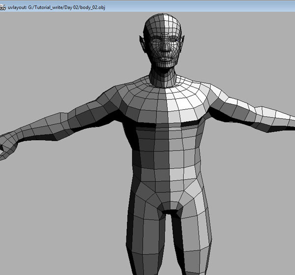 Tutorial UVMapping With UVLayout And Sculpting In Zbrush