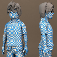 Create A Stylized Character With Maya And ZBrush, Part 4 UVMapping