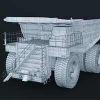 Building The Caterpillar 797 In 3D Studio Max – Creating The Tires, Rims, Cabin And Bridge