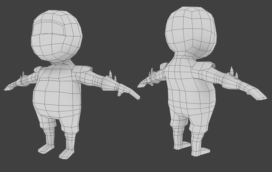 Low Poly Character Modeling Blender : Creating a low poly ninja game character using blender