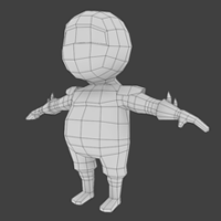 Creating A Low Poly Ninja Game Character Using Blender &#8211; Modeling