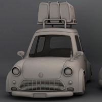 Create A Stylized Car In Maya: The Complete Workflow – Part 2
