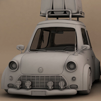 Create A Stylized Car In Maya: The Complete Workflow &#8211; Part 5