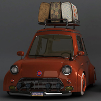 Create A Stylized Car In Maya: The Complete Workflow &#8211; Part 6
