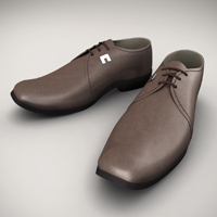 Model, UVMap, Texture, Light and Render Leather Shoes in Maya, Part 2