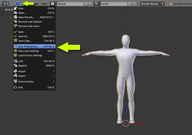 Blender, 261, 25, character, animation, walk, run, cycle, rigged, bones