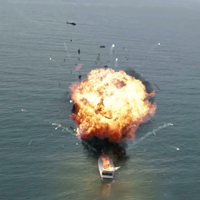 VFX Integration: Compositing a Boat Explosion with 3D Studio Max, FumeFX &#038; After Effects