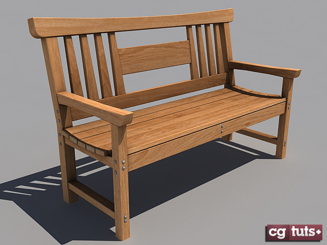 Freebie Japanese Wooden Bench C4dlounge Eu Cinema 4d