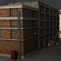 Cgtuts+ Workshop #25 Low Poly Alley Way