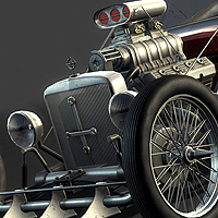 Creating a Next-Gen Video Game Hot Rod: the Complete Workflow – Day 6