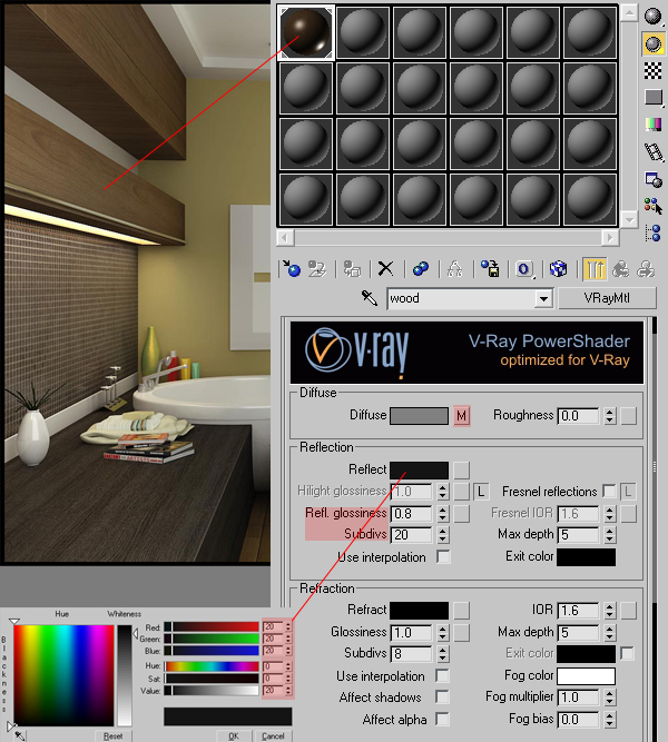 Terri S Blog Achieving Realistic Results With 3ds Max Amp V