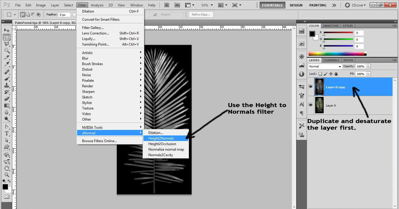 Speedtree to UDK: Creating A Palm Tree In Speedtree And
